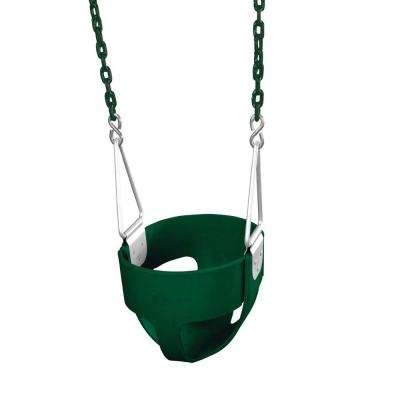 Green Commercial Full-Bucket Swing Assembly