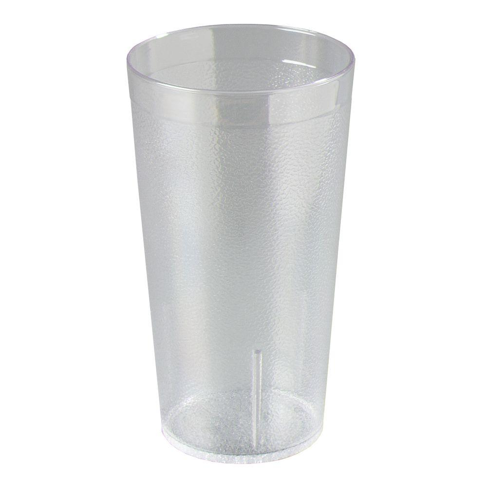 Carlisle 16 oz. SAN Plastic Stackable Tumbler in Clear (Case of 24)