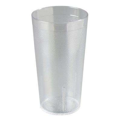 16 oz. SAN Plastic Stackable Tumbler in Clear (Case of 24)