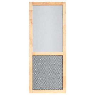PetGuard Series 36 in. x 80 in. Wood Century Screen Door