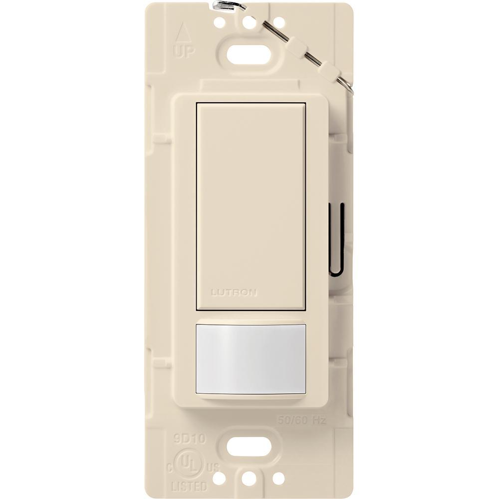 Lutron Maestro Vacancy Sensor Switch 2 Amp Single Pole