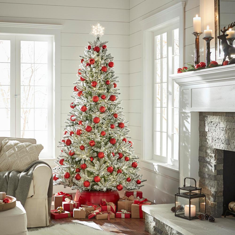 Home Accents Holiday Red Christmas Tree Collar