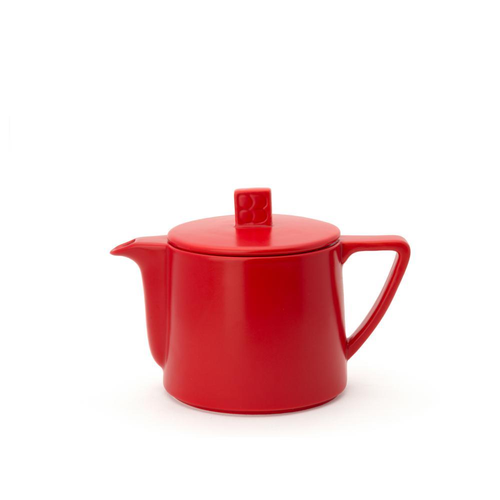 17 fl. oz. Red Lund Teapot