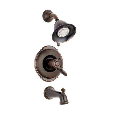 Victorian 1-Handle Tub and Shower Faucet Trim Kit in Venetian Bronze (Valve Not Included)
