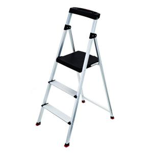 Rubbermaid 3-Step Aluminum Step Stool with 225 lb. Load Capacity Type II Duty Rating-RMA-3-COM - The Home Depot  sc 1 st  The Home Depot & Rubbermaid 3-Step Aluminum Step Stool with 225 lb. Load Capacity ... islam-shia.org