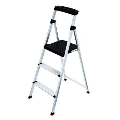 3-Step Aluminum Step Stool with 225 lb. Load Capacity Type II Duty Rating
