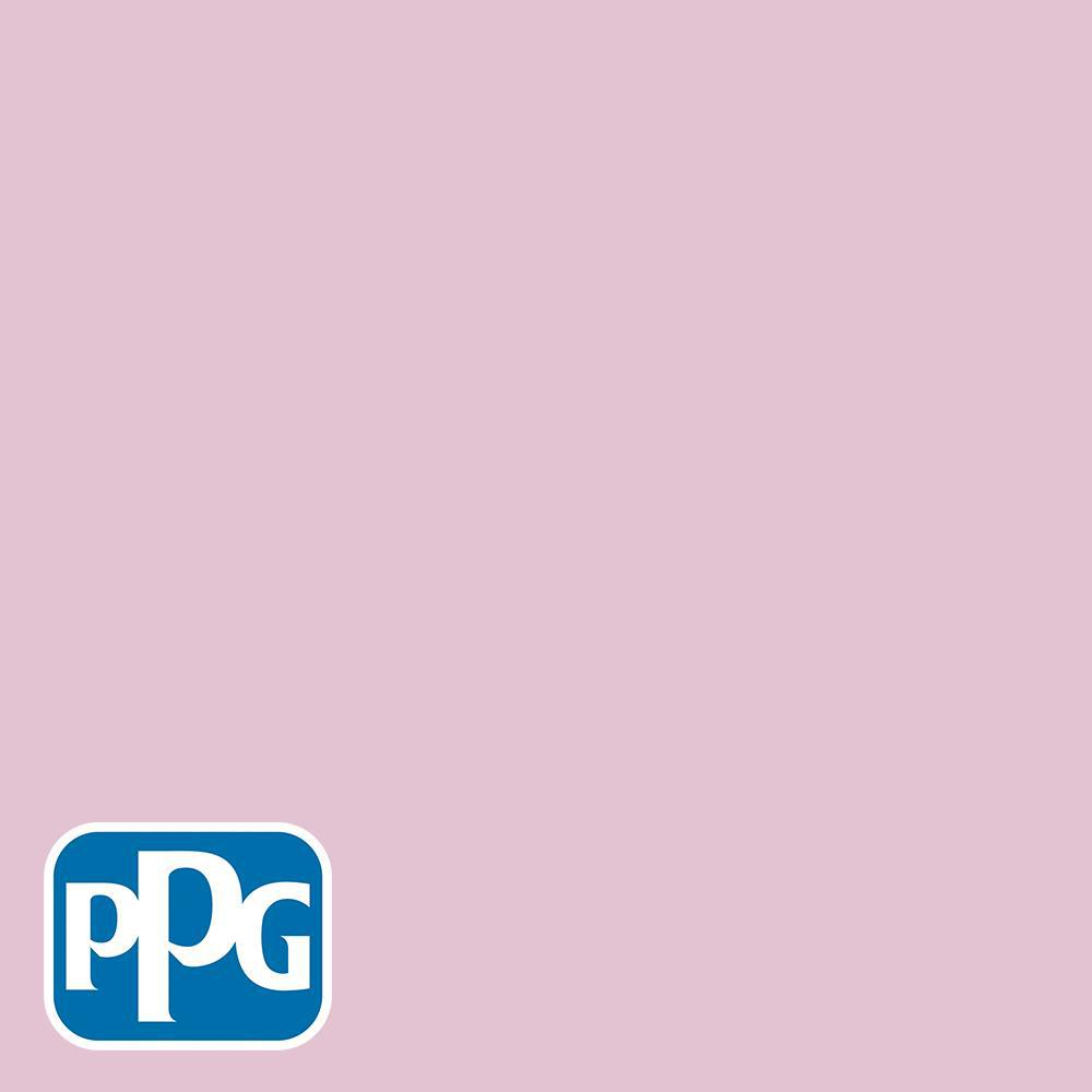 5 gal. #HDGR06U Perennial Pink Semi-Gloss Interior Paint with Primer