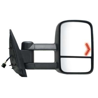 Towing Mirror for 07-14 Escalade/Silverado/Sierra/Tahoe/Yukon 07-13 Avalanche Black Heated Power Turn Signal RH