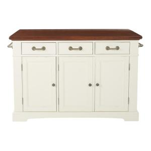 OSP Home Furnishings Country Kitchen Large Kitchen Island in ...