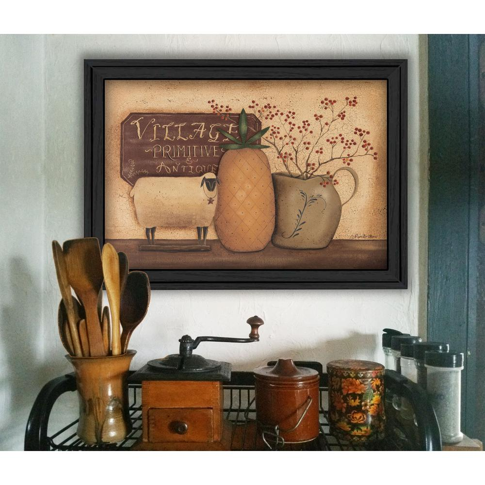 "15 in. x 19 in. ""Country Necessities"" by Pam Britton Printed"