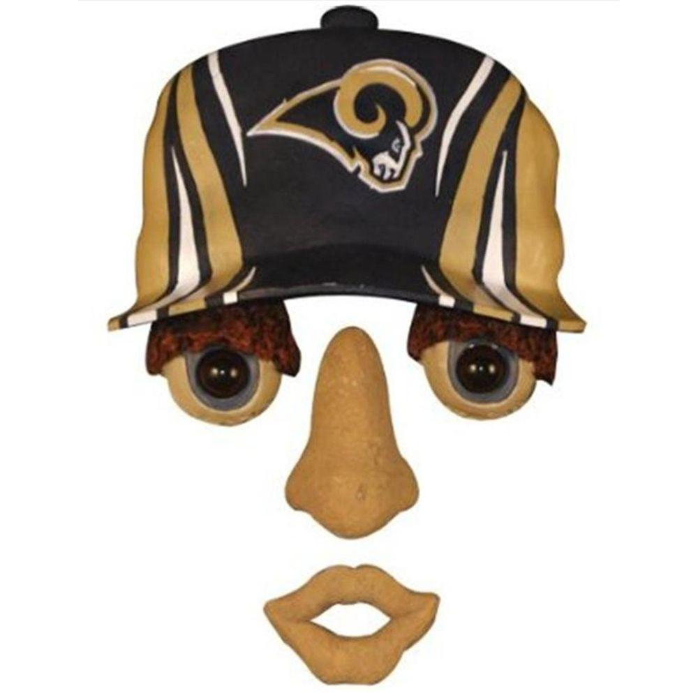Team Sports America 14 in. x 7 in. Forest Face St Louis Rams
