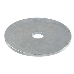 150 Zinc Plated Oversized Fender Washers 1//4 x 2 OD