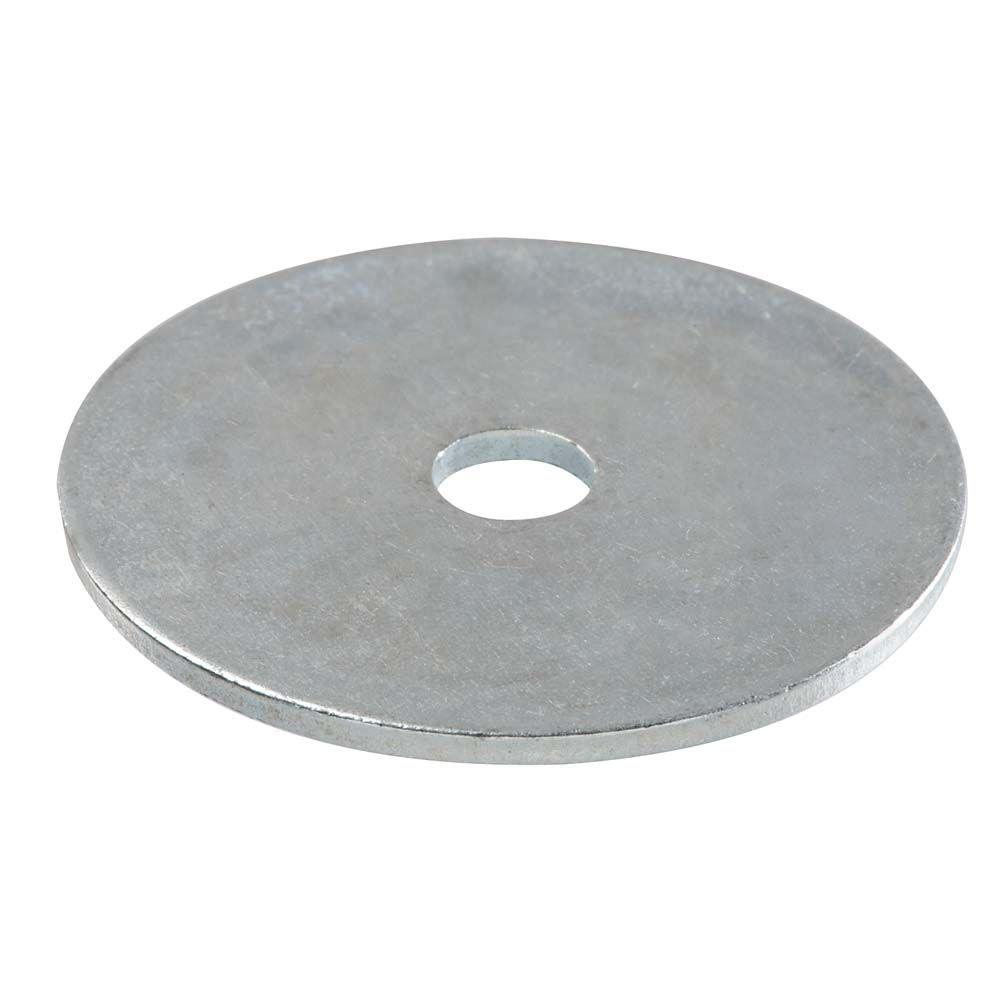 3/16 in. x 1 in. Metallic Stainless Steel Fender Washers (3-Pack)