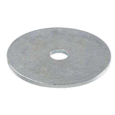 1/4 in. x 1 in. Metallic Stainless Steel Fender Washers (3-Pack)