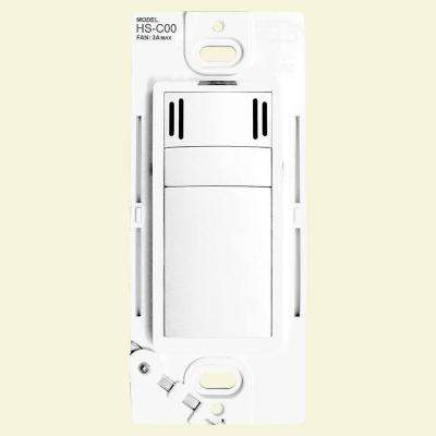 Condensation Fan Switch with Countdown Timer in White (120-Volt, 50/60Hz)