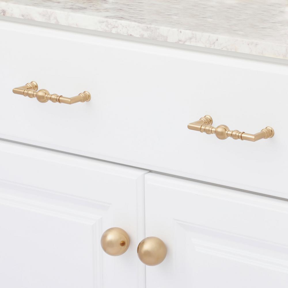 Classic 1-9/16 in. (25 mm) Champagne Bronze Cabinet Knob
