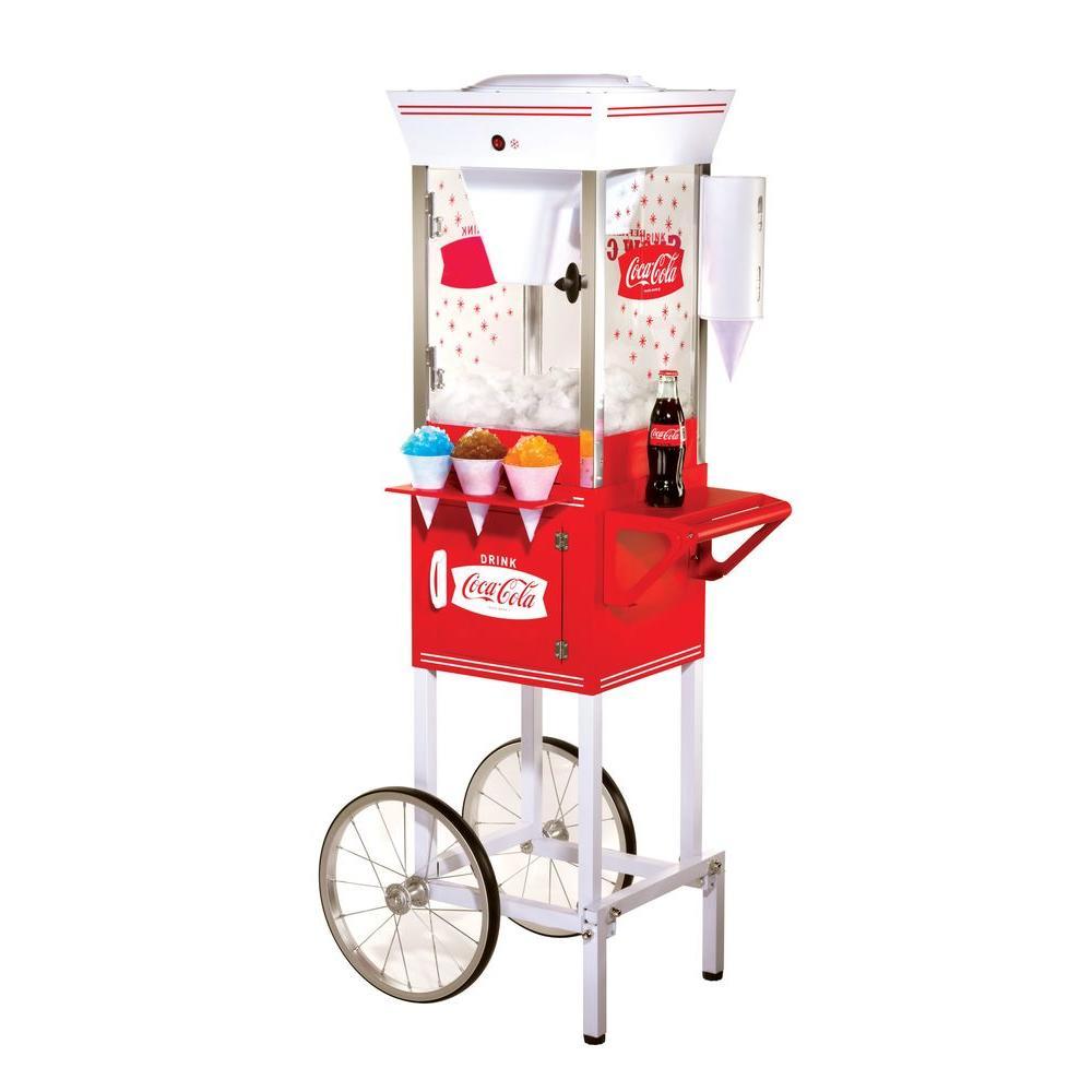 Nostalgia Electrics Coca-Cola Series Old Fashioned Snow Cone Cart-DISCONTINUED