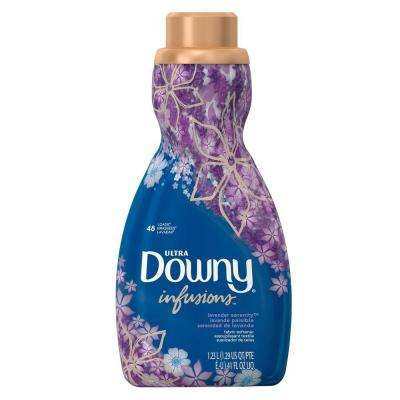 Ultra 41 oz. Infusions Lavender Serenity Liquid Fabric Softener (48-Loads)