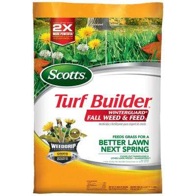 Turf Builder WinterGuard 43 lb. 15,000 sq. ft. Lawn Fertilizer Plus Weed Control