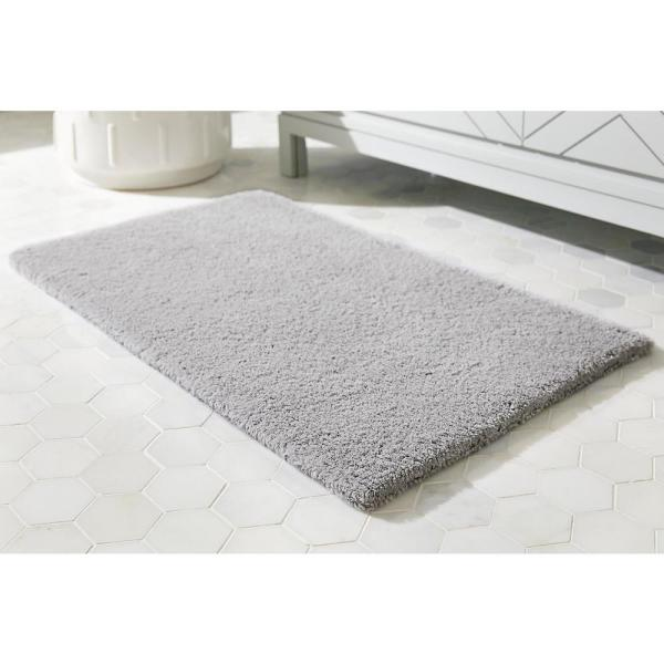 Home Decorators Collection Shadow Gray 17 in. x 24 in. Cotton