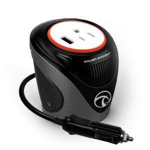 Power Bright XC120 Cup Inverter, 120-Watt 12-Volt DC Cigarette Lighter to 120-Volt AC to Power Laptops and Notebooks by
