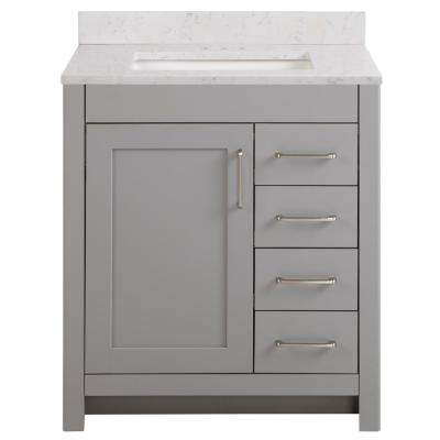 30 Inch Vanities Bathroom Vanities Bath The Home Depot