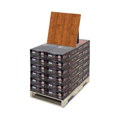 Hand Scraped Maple Amber 3/8 in. Thick x 4-3/4 in. Wide x 47-1/4 in Length Hardwood Flooring (299.28 sq. ft. / pallet)