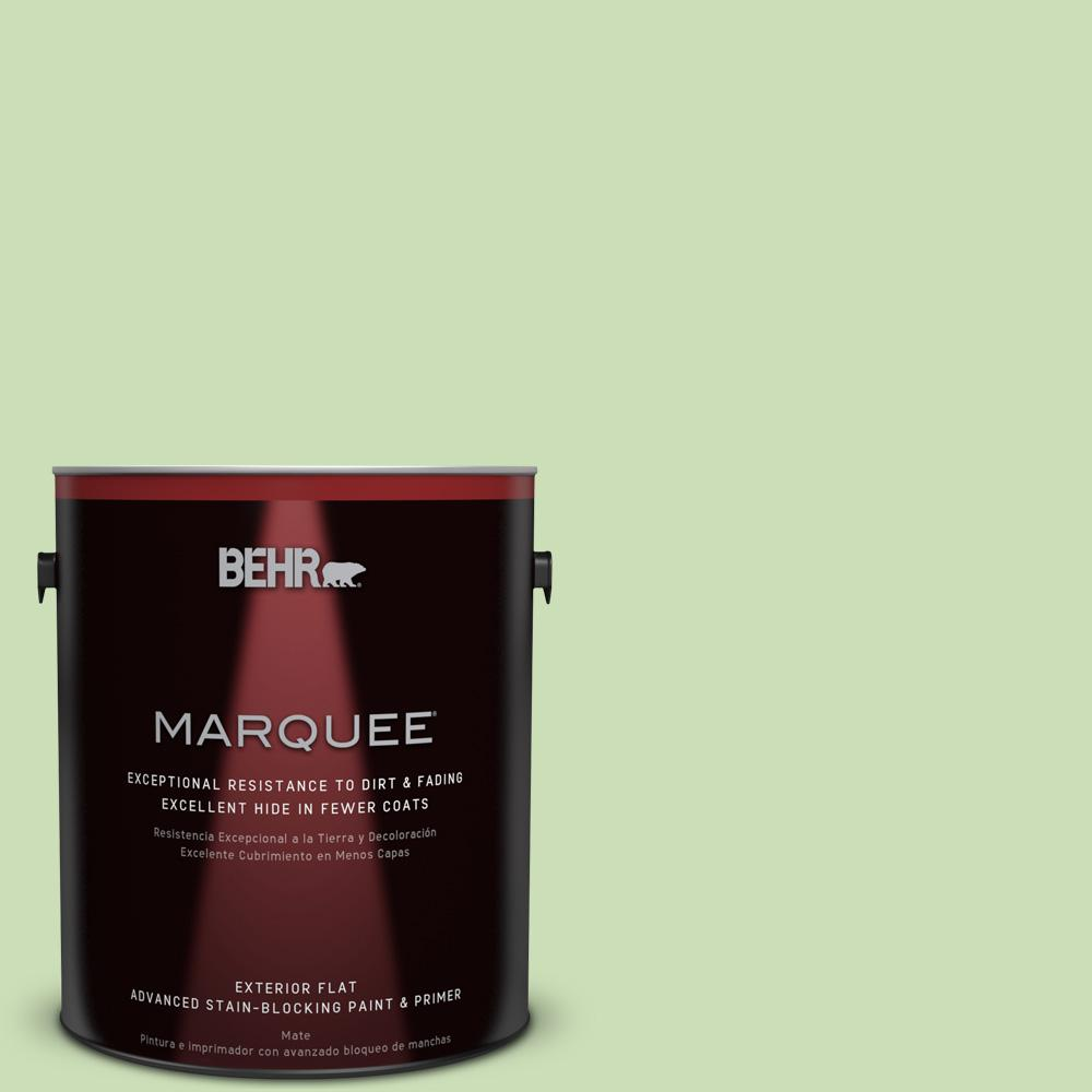 BEHR MARQUEE 1-gal. #430C-3 Peridot Flat Exterior Paint