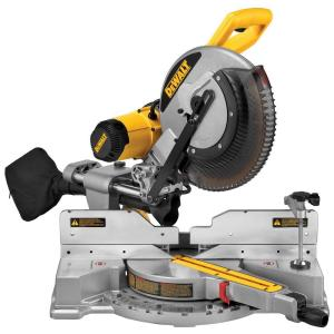 dewalt miter saws dws709 64_300 dewalt 15 amp 12 in double bevel sliding compound miter saw  at soozxer.org