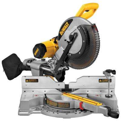 15 Amp 12 in. Dual Bevel Sliding Compound Miter Saw
