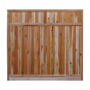 Signature Development 6 Ft H X 6 Ft W Western Red Cedar