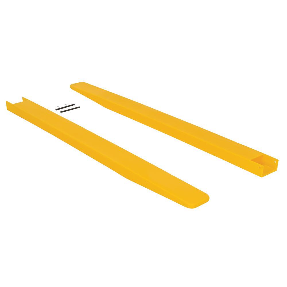 4 in. x 60 in. Fork Blade Protectors Polyethylene