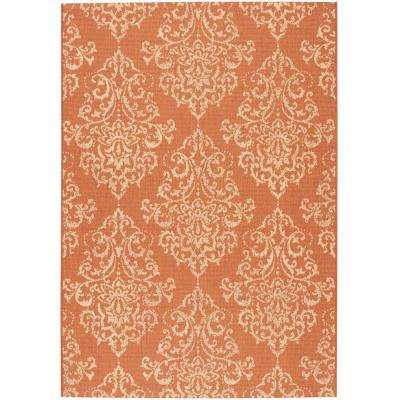 Monte Carlo Terracotta 8 ft. x 11 ft. Area Rug