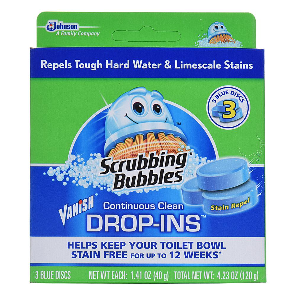 Toilet Cleaner Drop Ins (Pack of 3)(Case/6)