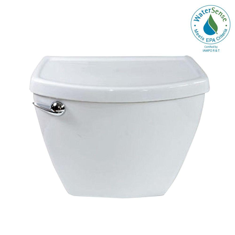 American Standard Cadet 3 1.28 GPF Toilet Tank Only in White-DISCONTINUED