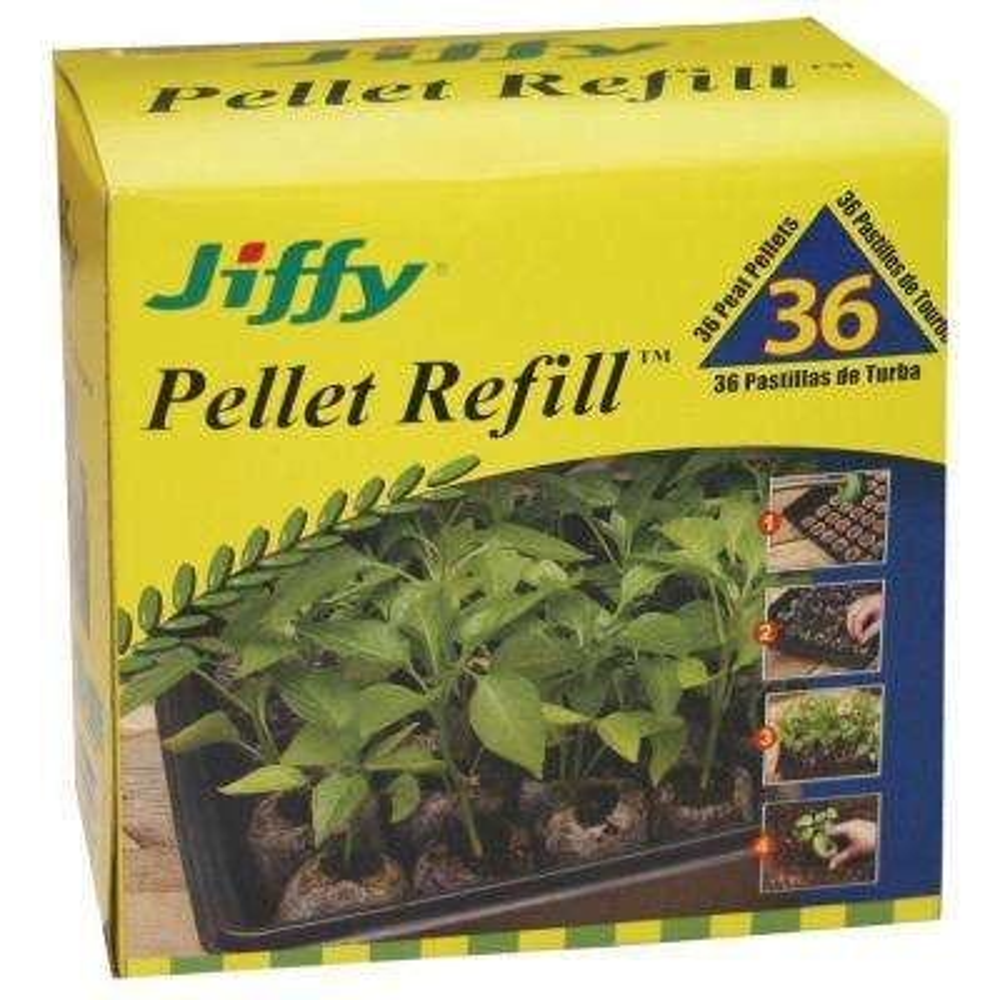 Peat Pellet Refill (36-Pack)