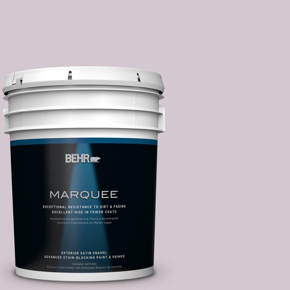 BEHR MARQUEE 5-gal. #N110-1 Dusty Lilac Satin Enamel Exterior Paint