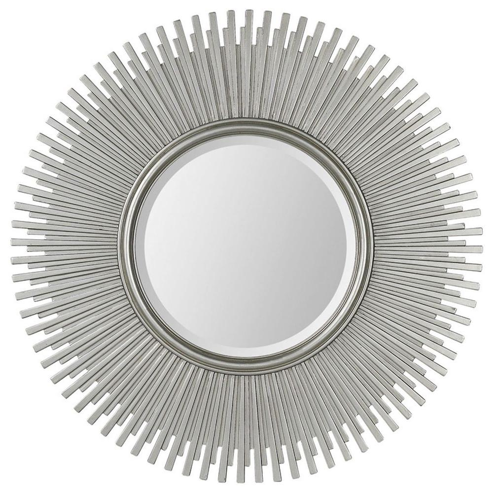 Ren-Wil Luna 42 in. x 42 in. Modern Framed Mirror