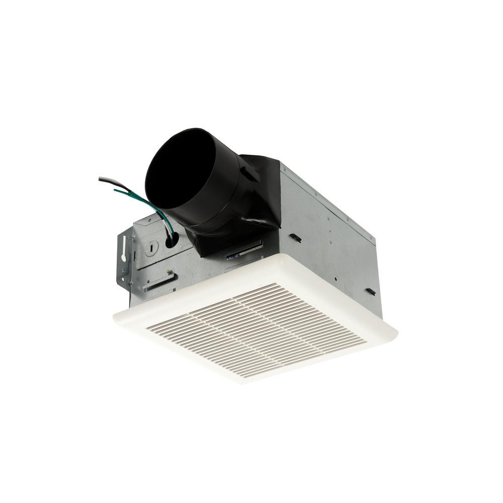 Energy Efficient Bathroom Exhaust Fans: NuTone Heavy Duty 50 CFM Ceiling Exhaust Fan-HD50NT