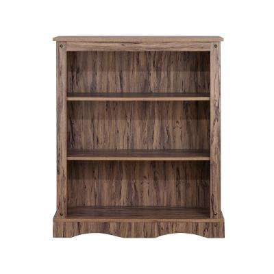 Wren Maple Veneer Simplicity Bookcase with 3-Shelves