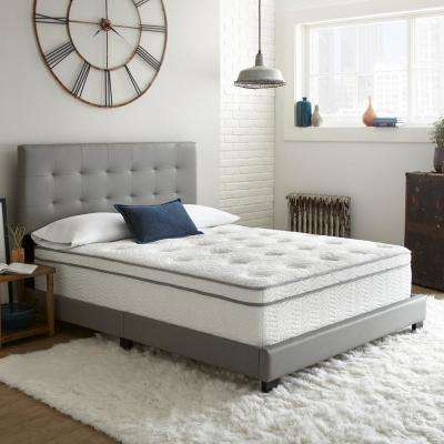 Luxury Twin XL 14 in. Hybrid Innerspring Euro Top Mattress