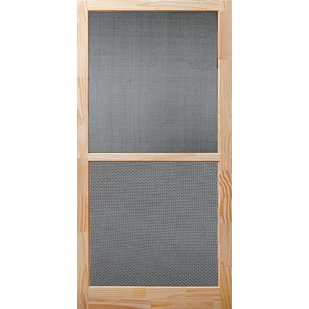 32 X 80 Screen Doors Exterior Doors The Home Depot