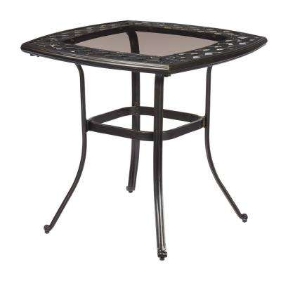 Belcourt Metal Square Outdoor Bistro Table