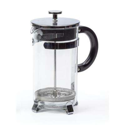 Endurance 8-Cup French Press in Glass, Stainless Steel