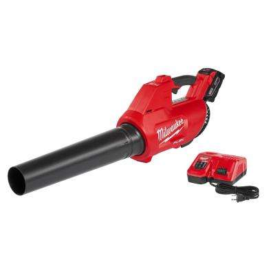 M18 FUEL 100 MPH 450 CFM 18-Volt Lithium Ion Brushless Cordless Handheld Blower Kit W/ 5.0Ah Battery & Charger