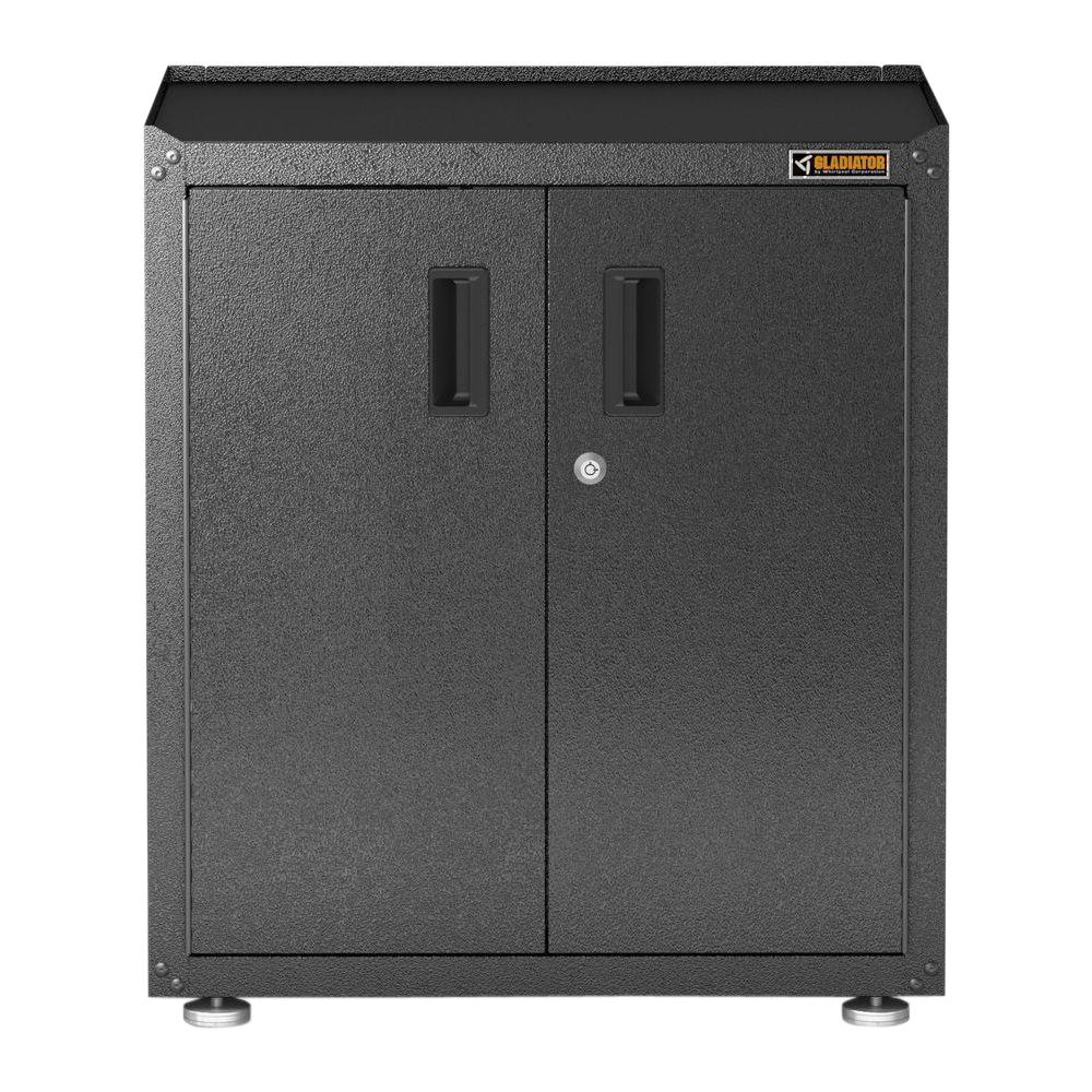 home depot storage cabinets gladiator ready to assemble 31 in h x 28 in w x 18 in d 16495