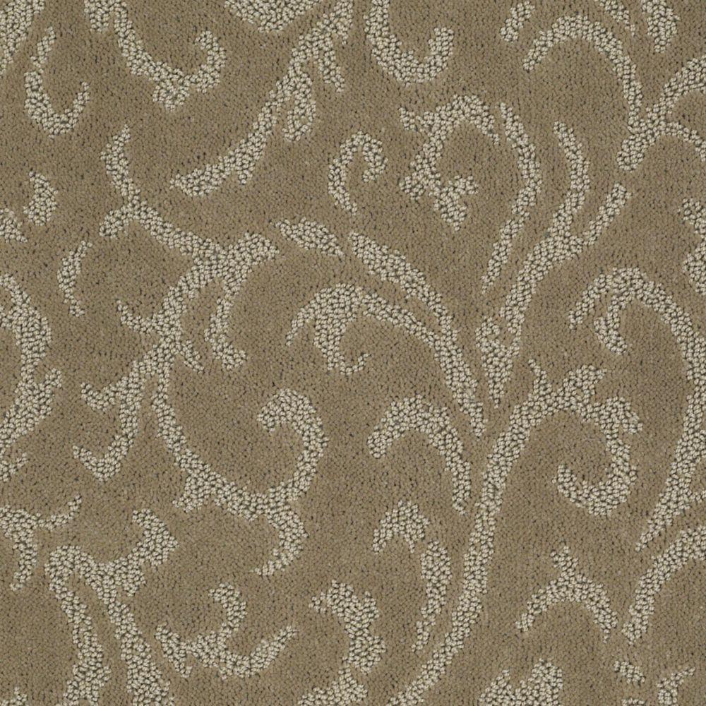Trafficmaster Fallbrook Color Honey Bear 12 Ft Carpet