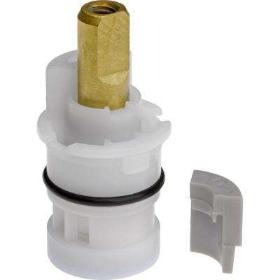 Ceramic Stem Cartridge for 2-Handle Faucets in White
