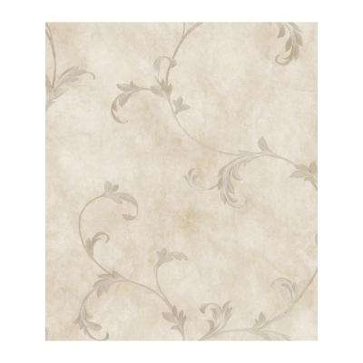 Gracie Stone Scroll Paper Strippable Roll Wallpaper (Covers 56.4 sq. ft.)