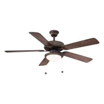 Trice 52 in. LED Espresso Bronze Ceiling Fan
